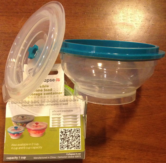 Collapseit food containers perfect food storage Tales of Travel